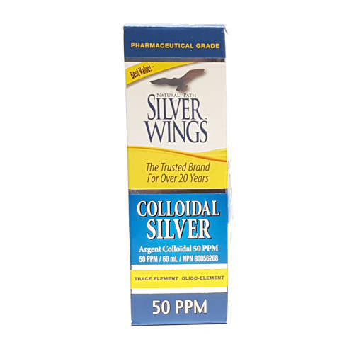 Silver Wings: Colloidal Silver  60ml