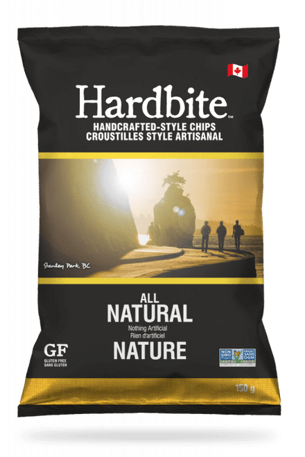 Hardbite: Potato Chips - All Natural