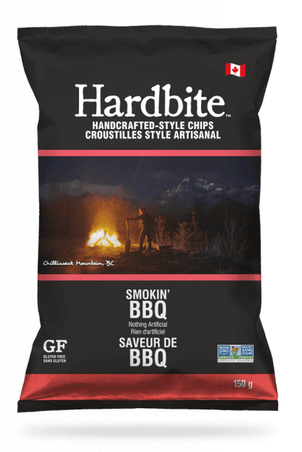Hardbite: Potato Chips - Smokin' BBQ