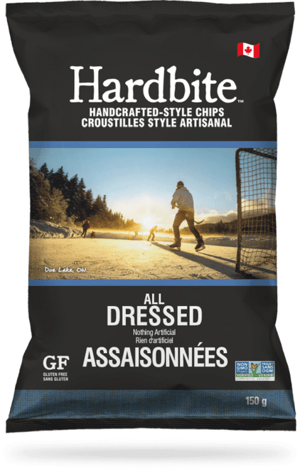 Hardbite: Potato Chips - All Dressed