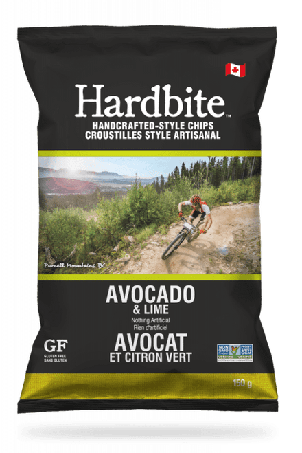 Hardbite: Potato Chips - Avocado & Lime