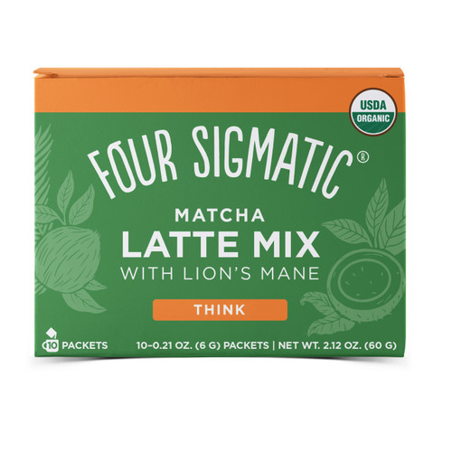 Four Sigmatic: Matcha Latte Mix w/ Lion's Mane