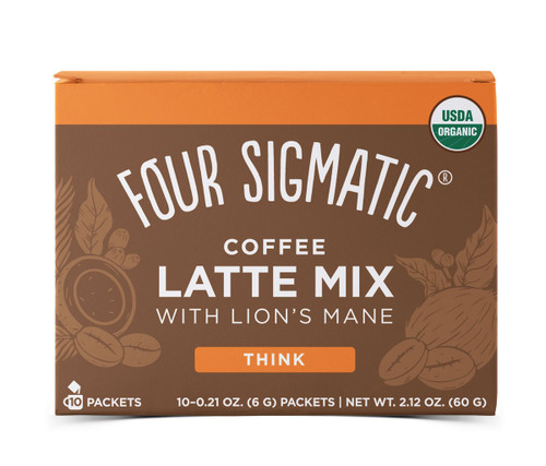 Four Sigmatic: Coffee Latte Mix w/ Lion's Mane
