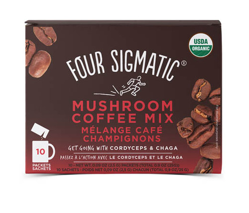 Four Sigmatic: Mushroom Coffee Mix w/ Cordyceps & Chaga