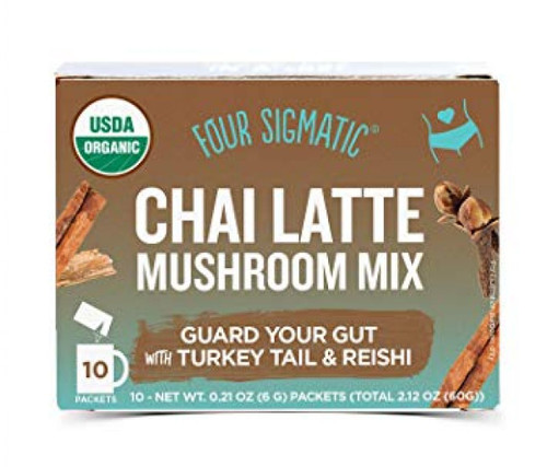 Four Sigmatic: Mushroom Chai Latte w/ Turkey Tail & Reishi