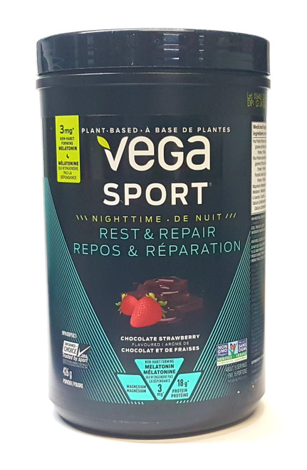 Vega Sport Rest & Repair - Chocolate Strawberry (426g)