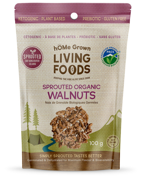 Sprouted Organic Walnuts