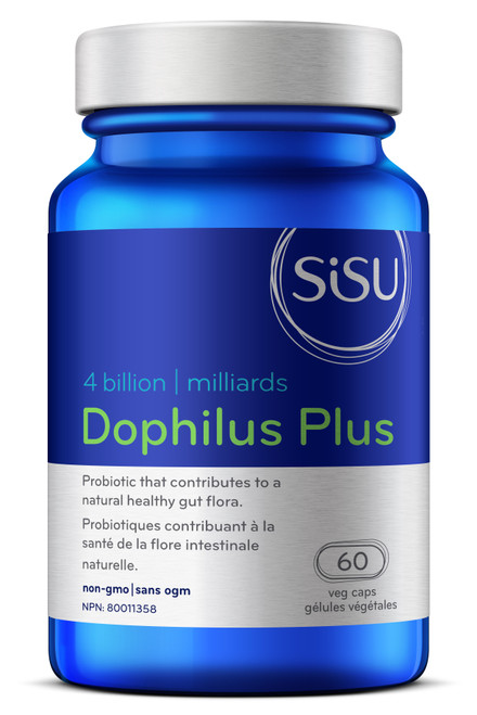 Sisu: Dophilus Plus 4 Billion (60 vcaps)