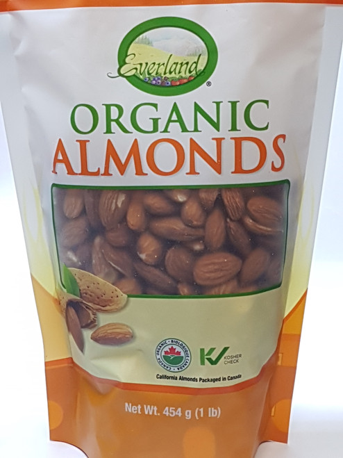 Everland: Organic Almonds (454g)