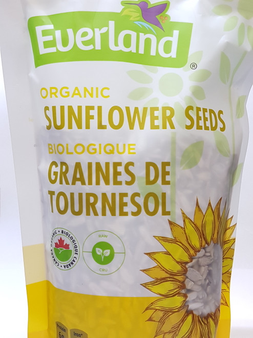 Everland: Organic Sunflower Seeds (454g)