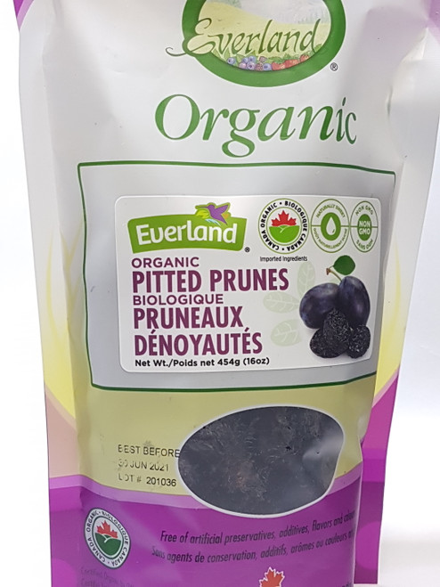Everland: Organic Pitted Prunes (454g)