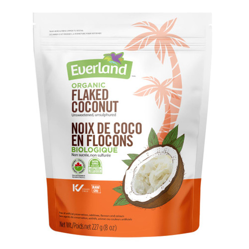 Everland: Organic Flaked Coconut (227g)