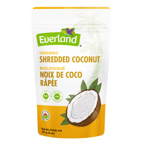 Everland: Organic Shredded Coconut (227g)