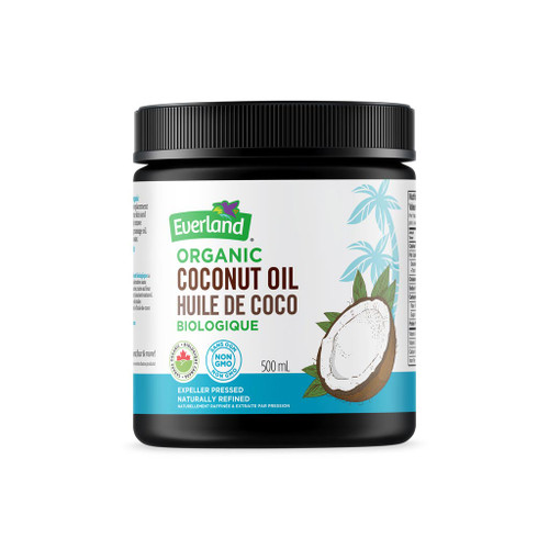 Everland: Organic Coconut Oil (500ml)