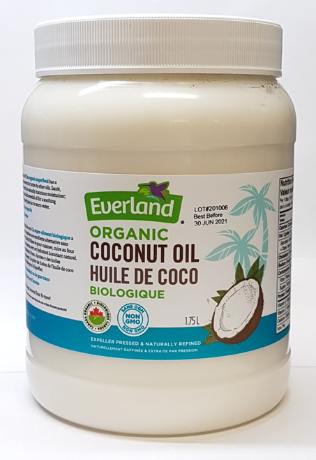 Everland: Organic Coconut Oil (1.75 L)