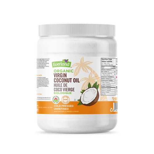 Everland: Organic Virgin Coconut Oil (1.75 L)