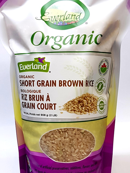 Everland: Organic Short Grain Brown Rice (908g)