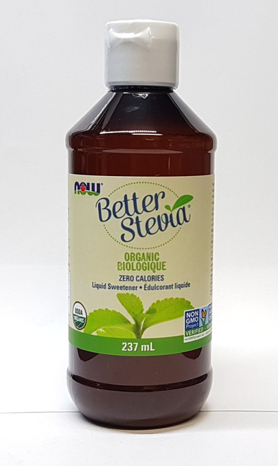 Now Foods: Organic Better Stevia (237ml)