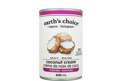 Earth's Choice: Organic Heavy Coconut Cream - Guar Gum Free