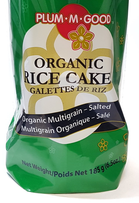 Plum M Good: Organic Multigrain Rice Cake - Salted