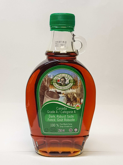 Uncle Lukes: Organic Maple Syrup - Grade A Dark (250mL)