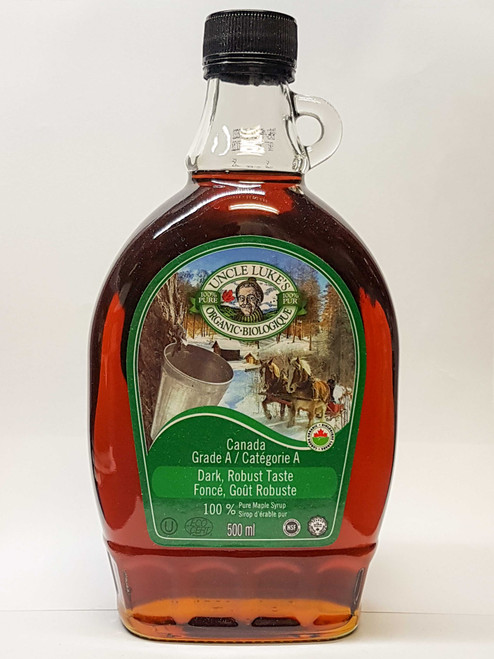 Uncle Lukes: Organic Maple Syrup - Grade A Dark (500ml)
