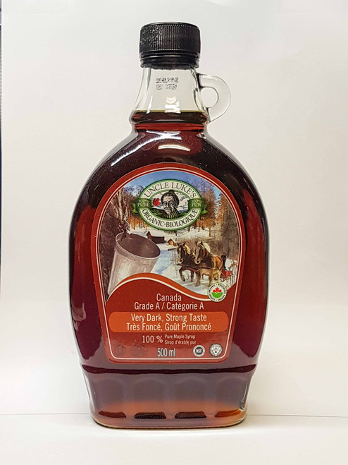 Uncle Lukes: Organic Maple Syrup - Grade A Very Dark