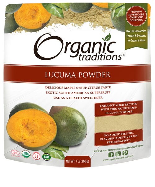 Organic Traditions: Lucuma Powder (200g)