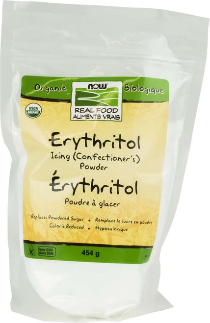 Now Foods: Erythritol Icing (Confectioner's) Powder (454g)