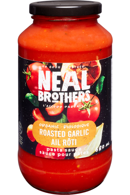 Neal Brothers: Organic Pasta Sauce - Roasted Garlic