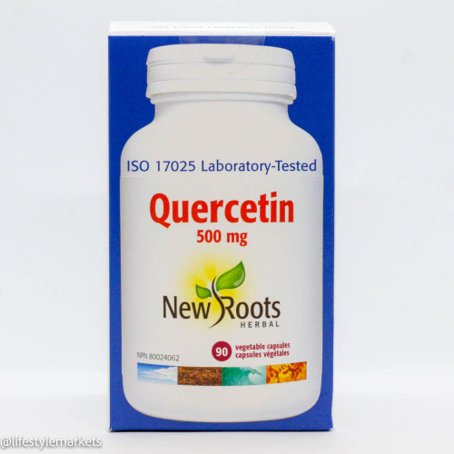 New Roots: Quercetin 500mg