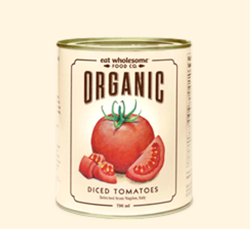Eat Wholesome: Organic Diced Tomatoes