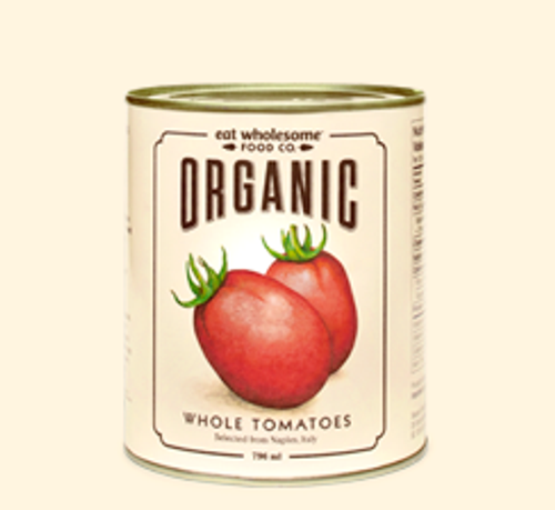 Eat Wholesome: Organic Whole Tomatoes