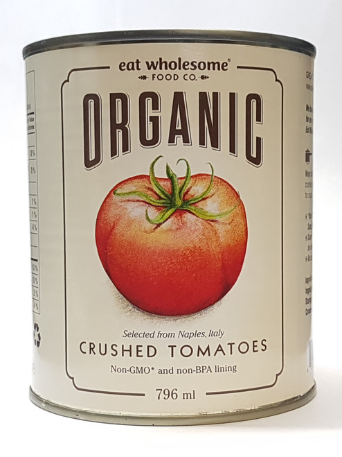 Eat Wholesome: Organic Crushed Tomatoes