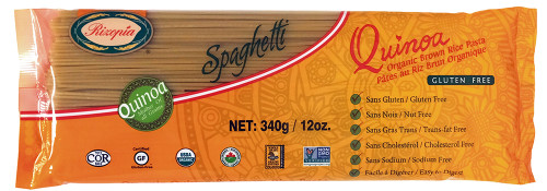 Rizopia Food Products: Organic Quinoa Brown Rice Spaghetti