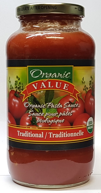 Organic Value: Pasta Sauce - Traditional