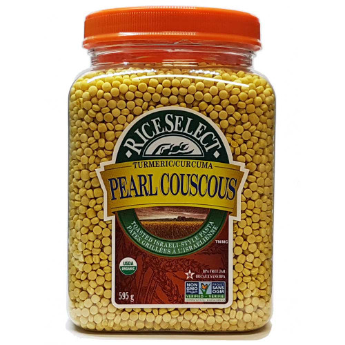 RiceSelect: Pearl Couscous with Turmeric