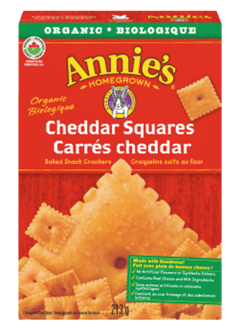 Annie's Homegrown: Cheddar Squares