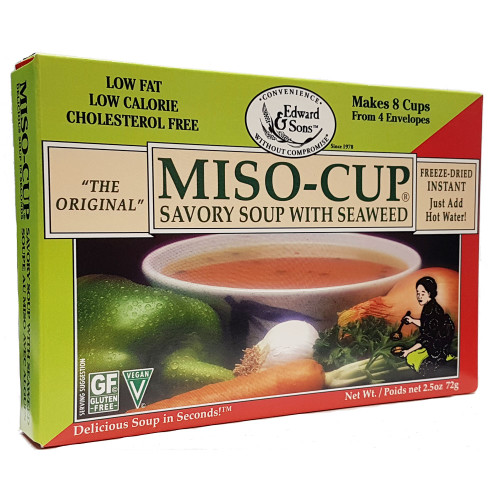 Edward and Sons: Miso-Cup - Savory Seaweed