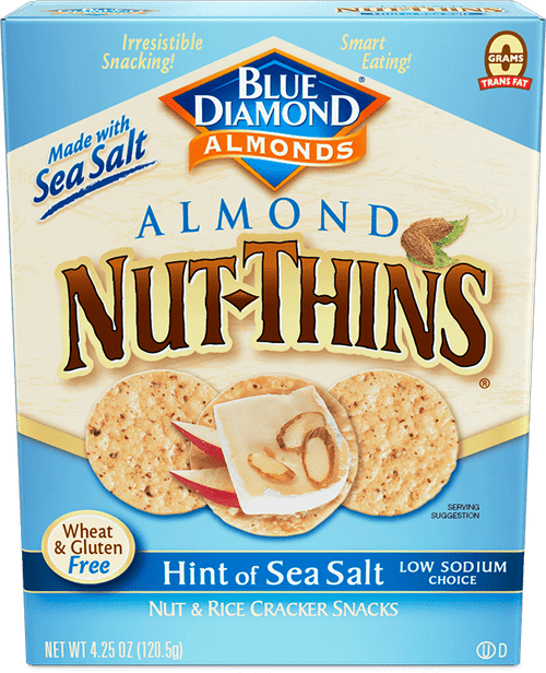 Blue Diamond: Hint of Sea Salt Nut-Thins