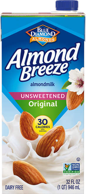 Blue Diamond: Almond Breeze Unsweetened Original