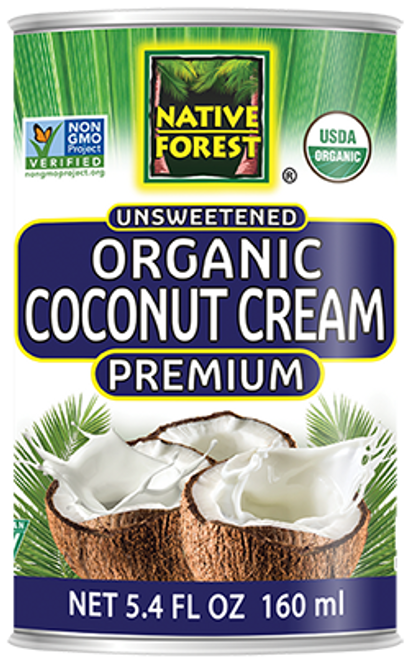Native Forest: Organic Unsweetened Coconut Cream