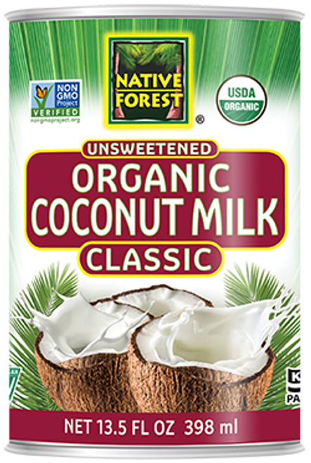 Native Forest: Organic Unsweetened Coconut Milk