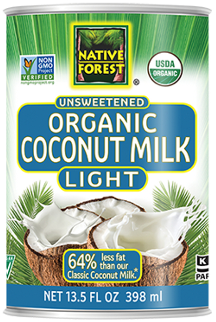 Native Forest: Organic Unsweetened Light Coconut Milk