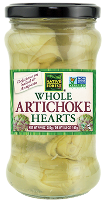 Native Forest: Whole Artichoke Hearts