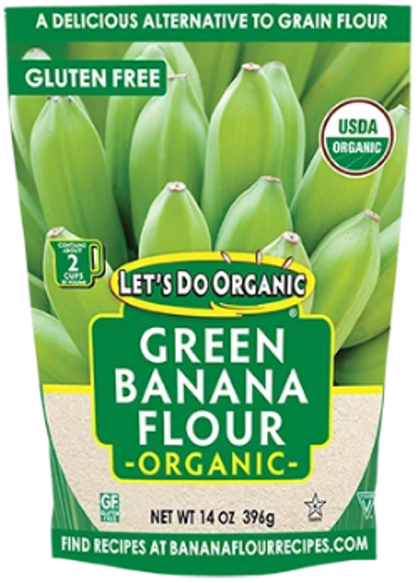Let's Do Organic: Green Banana Flour