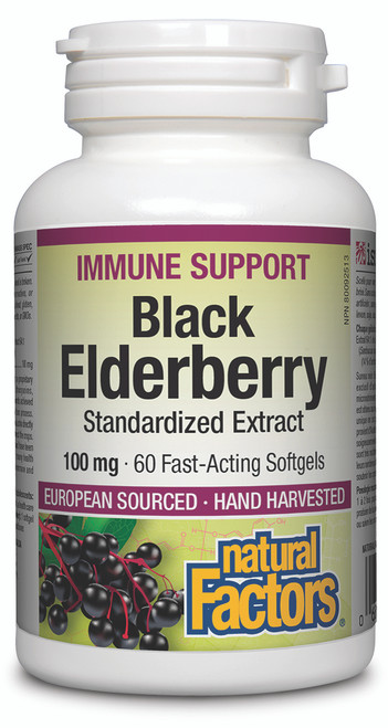 Natural Factors: Black Elderberry