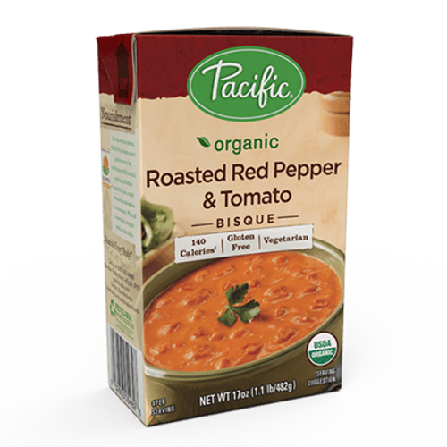 Pacific: Organic Roasted Red Pepper & Tomato Bisque