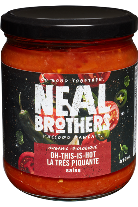 Neal Brothers: Organic Salsa - Hot