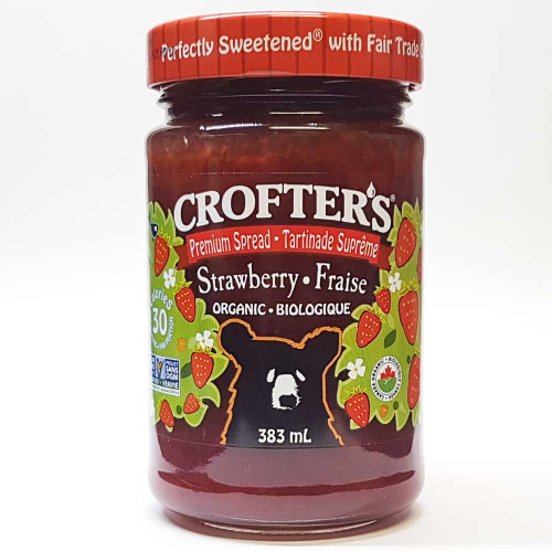 Crofter's Organic: Premium Strawberry Spread
